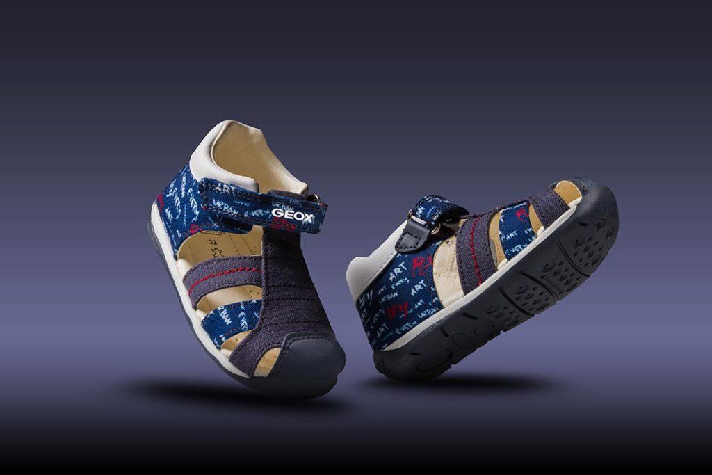 zdjęcia reklamowe obuwia dziecięcego